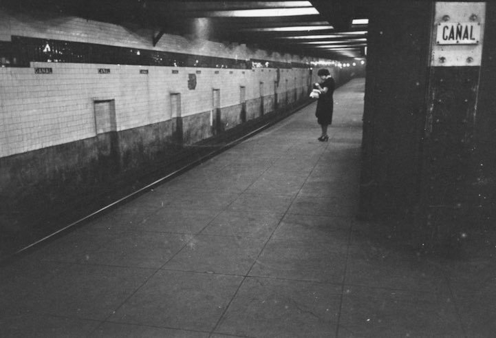 kubrick fotos en  metro 13