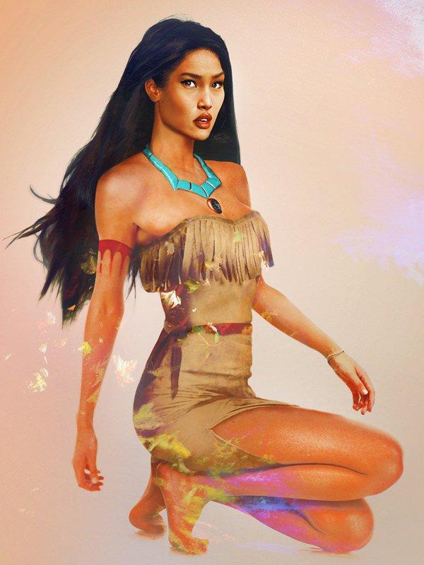 princesas disney reales 8