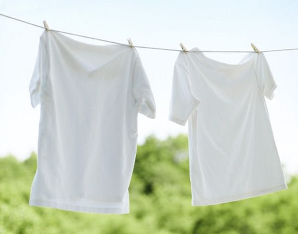 T-shirts Hanging out to Dry