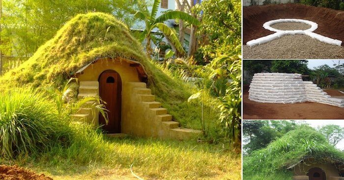 Construir tu propia casa hobbit en el jard n por 270 es - Construir una casa precio ...