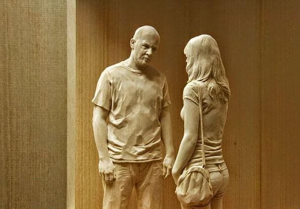 esculturas de madera realistas 6