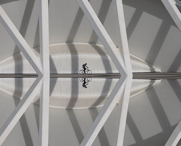 Cycling between lines