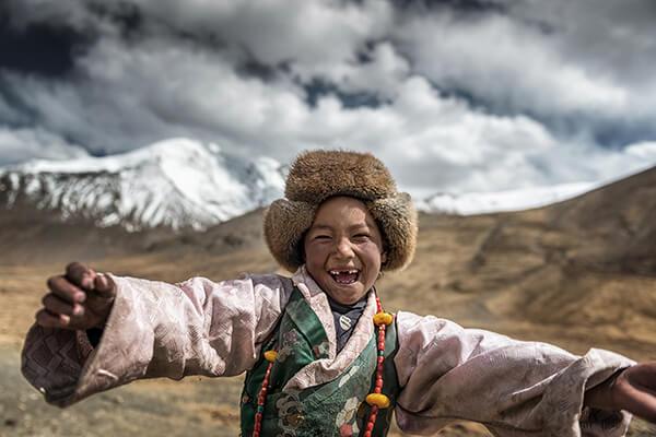 Smile  of  Tibet
