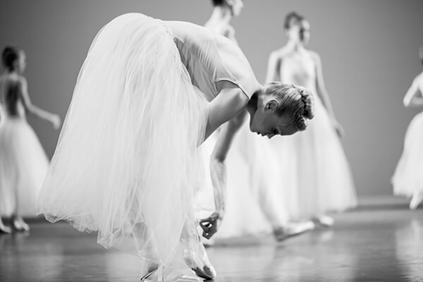 Dancer in Pause