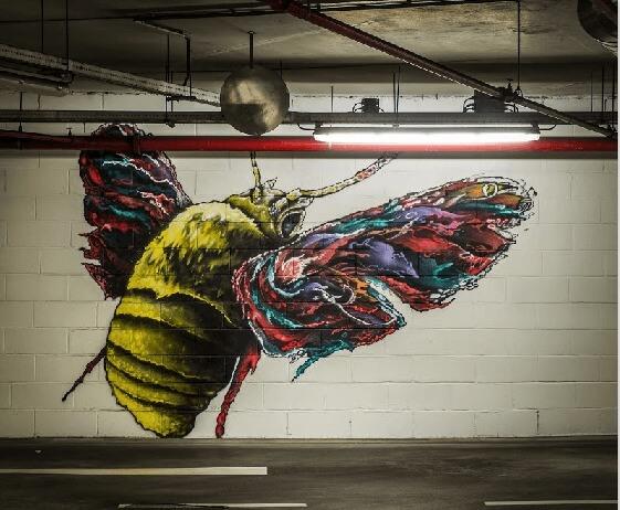 Un colorido escarabajo por Klit - Alfragide, Portugal
