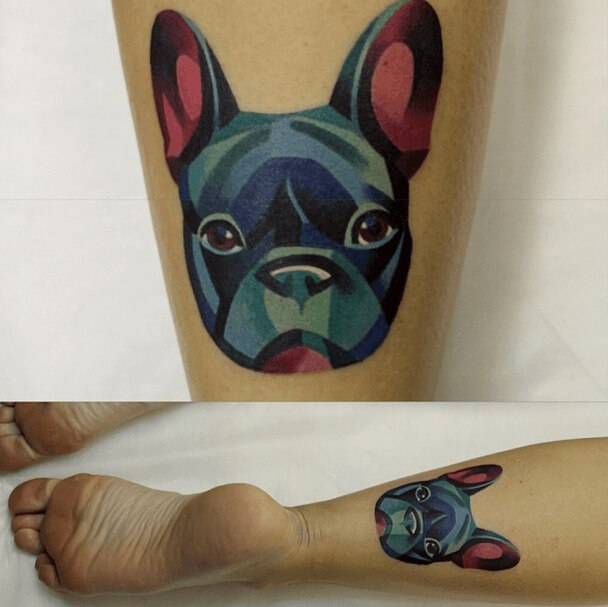 tatuajes de color poligonales11
