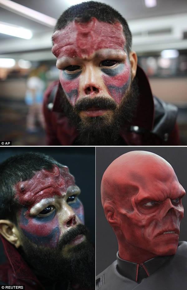 2 red skull
