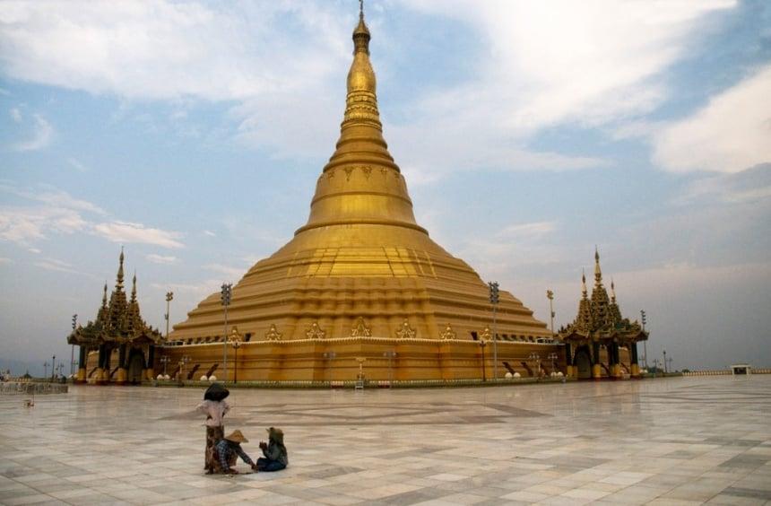 La fastuosa y gigantesca ciudad fantasma de antigua Birmania