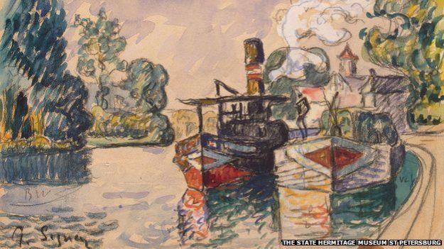 Obra original de Signac.
