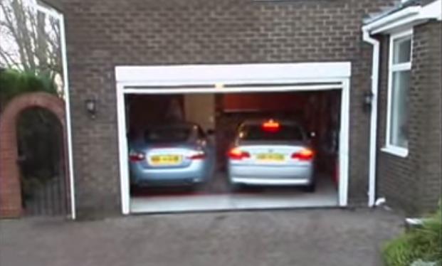 C mo meter as dos coches en un garaje estrecho mira c mo - Garaje de coches ...