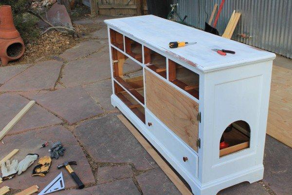 mueble arenero para gatos 4