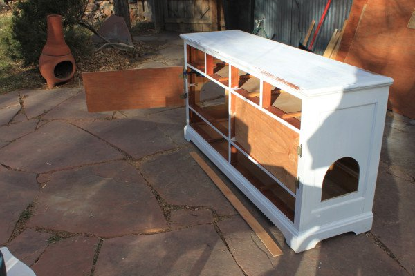 mueble arenero para gatos 5
