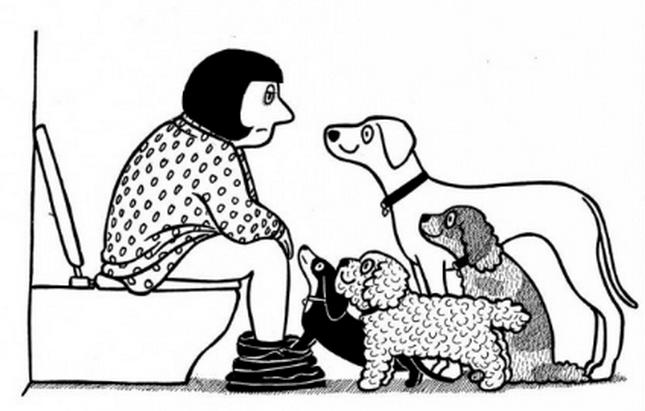 perros-piensan