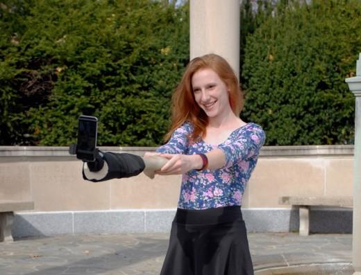 selfie arm 2