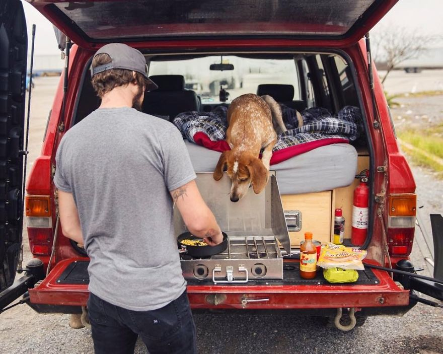 Perro y fotografo viaje 19