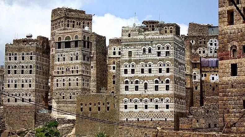 al hajjarah yemen pueblo edificios (1)