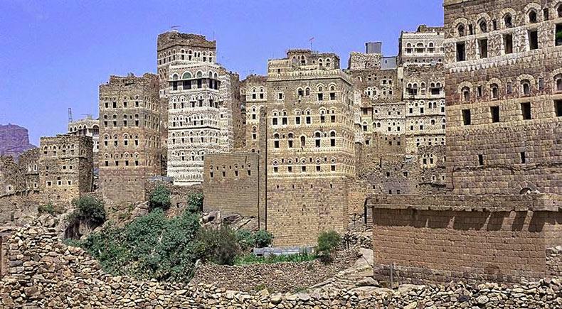 al hajjarah yemen pueblo edificios (7)