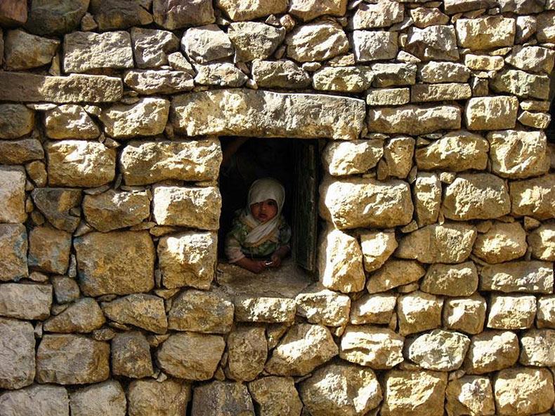 al hajjarah yemen pueblo edificios (8)