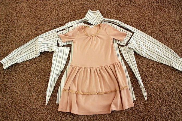 camisas a vestidos infantiles 1