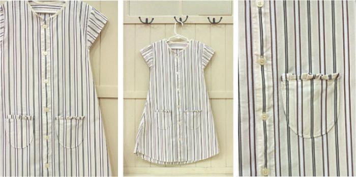 camisas a vestidos infantiles 3