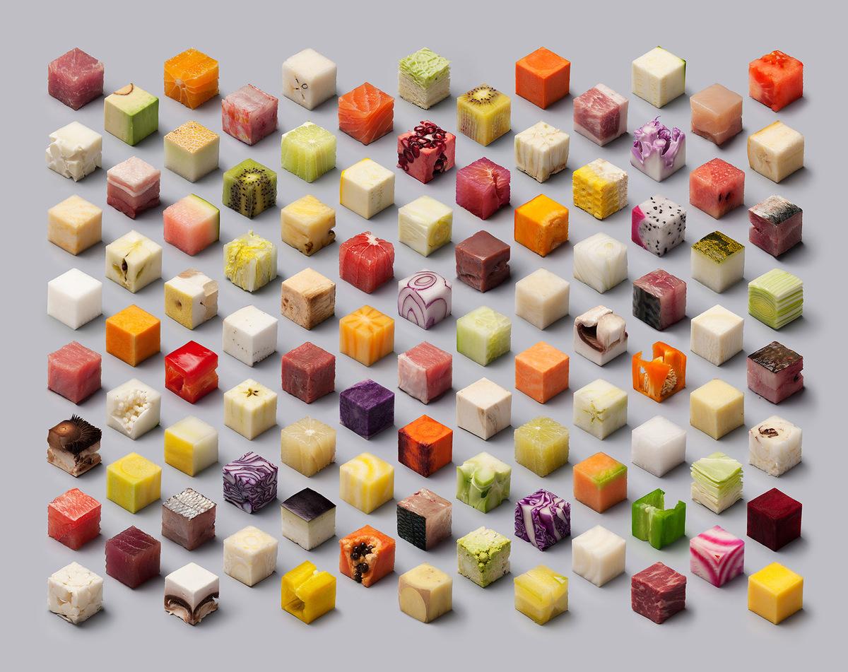cube food