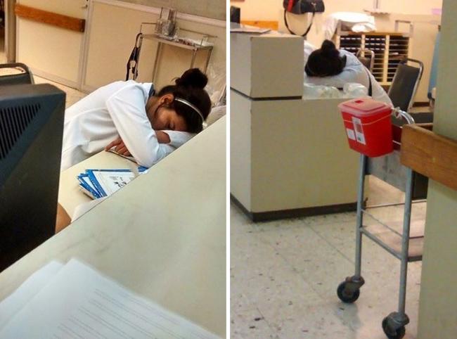 doctores durmiendo 2