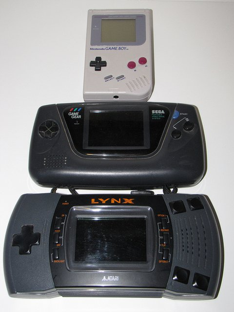game boy, game gear atari Lynx