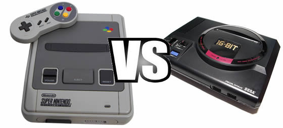 megadrive vs supernintendo