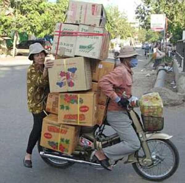 motos cargadas 2
