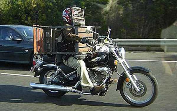 motos cargadas 22