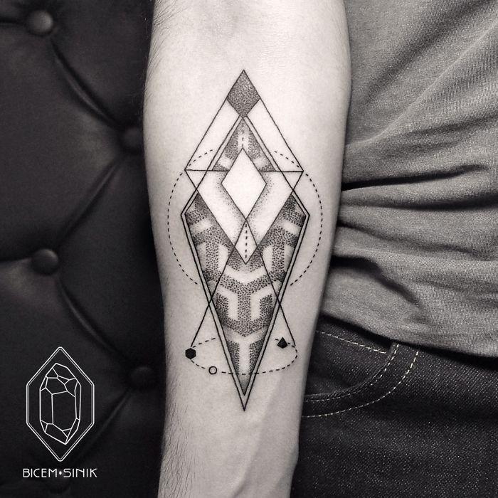 No Son Los Tatuajes Que Estás Acostumbrado A Ver Pero Si Los Que Te