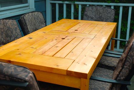 mesa de jardin con cubitera 10