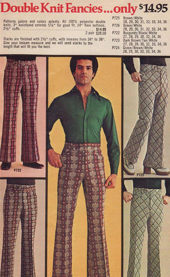 Masculina Y Gracias Que Moda En Era Años Damos 70' Así La Los De Yfygbv67