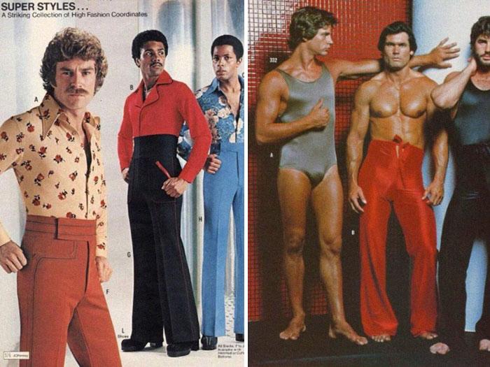 Así era la moda masculina en los años 70\u2032 y damos gracias de que quede tan lejos