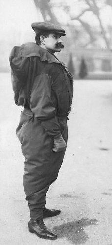 Francois Reichelt, before his fatal attempt, 1912