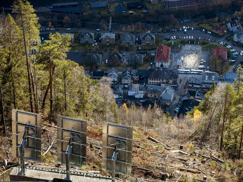 Rjukan el pueblo noruego que se pasa sumido en la oscuridad 6 meses al año 4