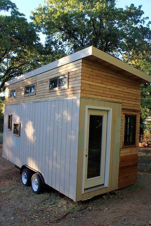 Se hizo una mini-casa para poder pagar la universidad