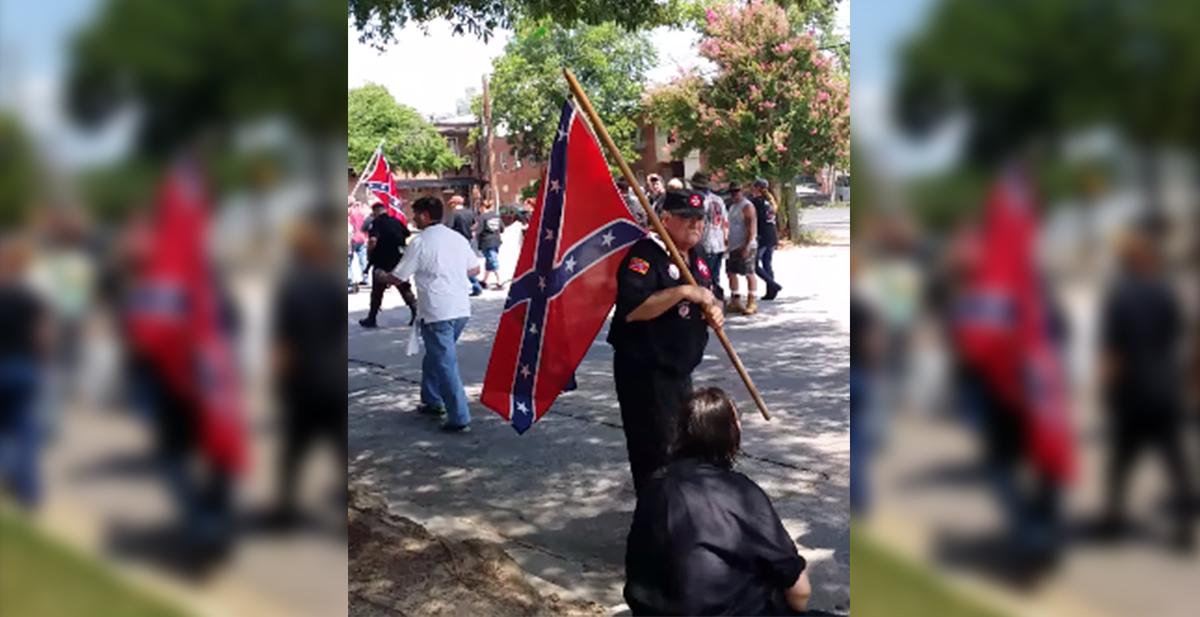 chafar manifestacion KKK