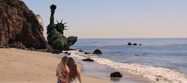 chicas photoshop playa 24