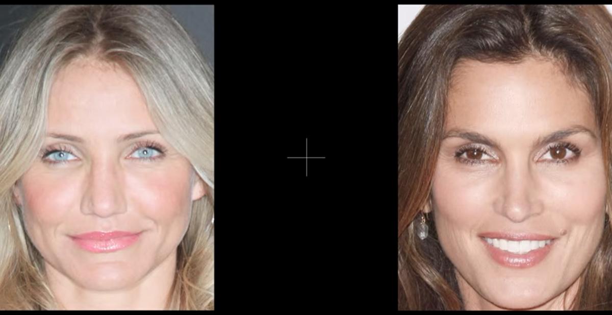 destacada efecto distorsion de caras