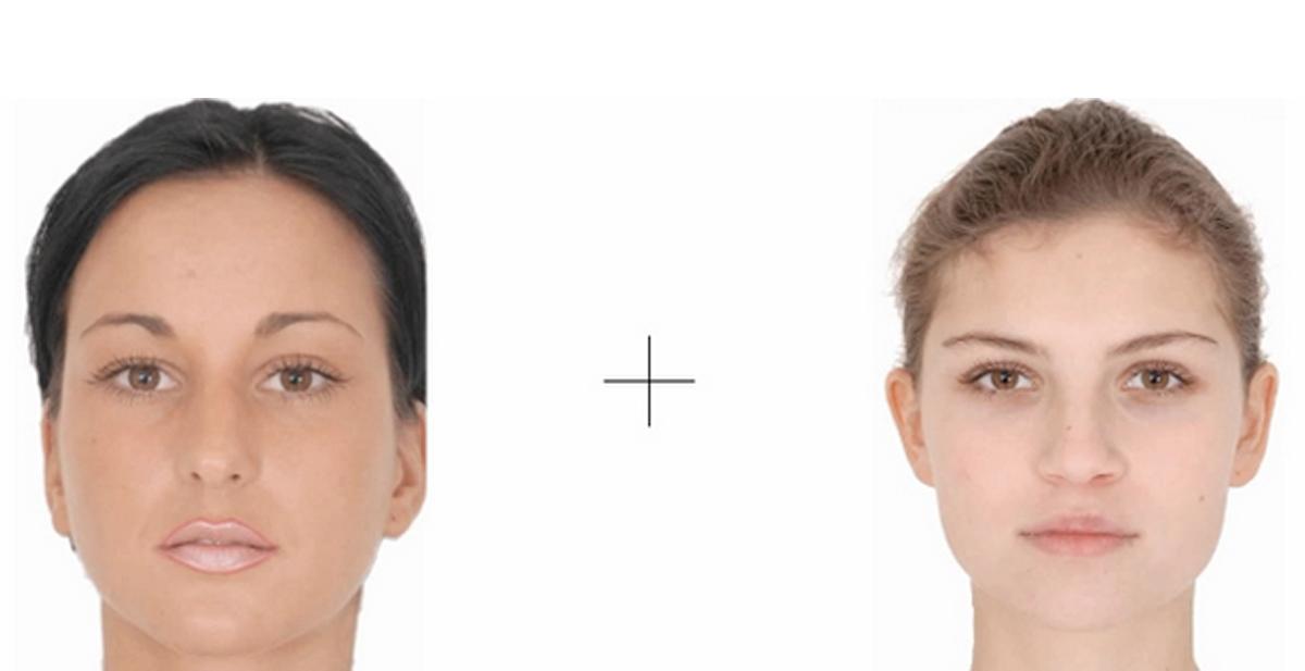 destacada efecto flash face
