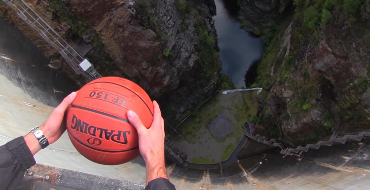 destacada efecto magnus pelota basket