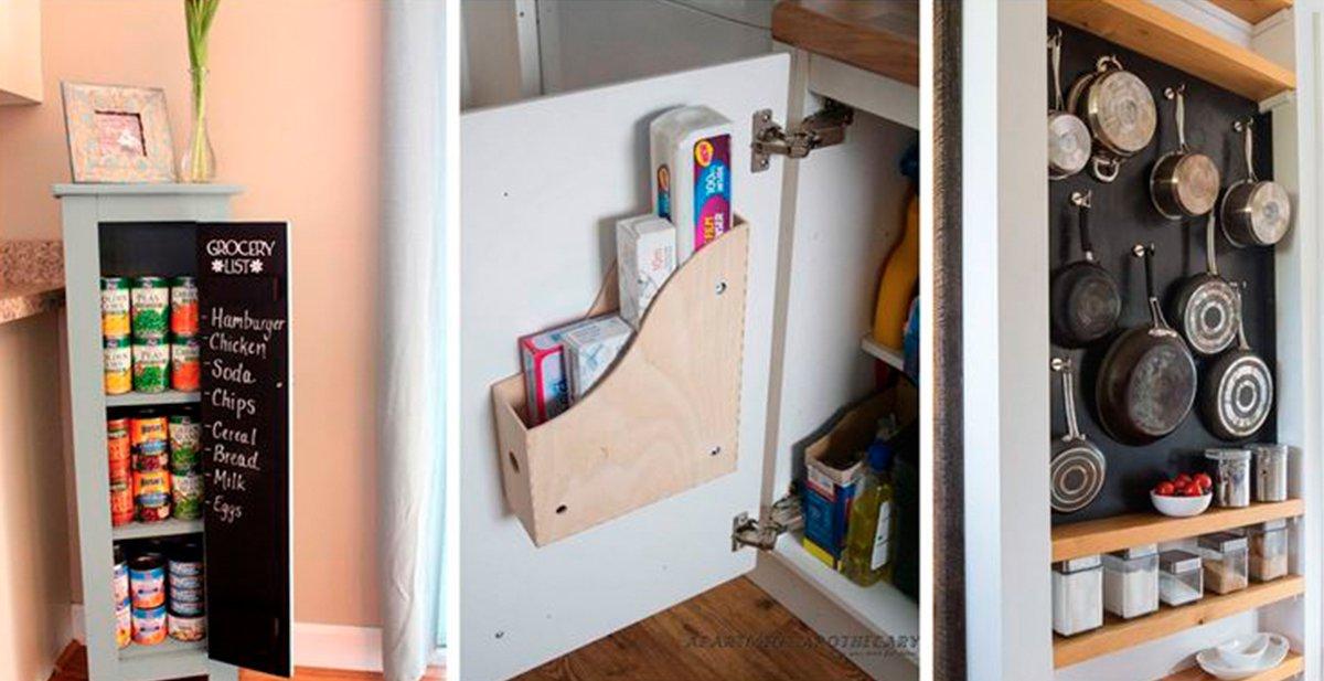 15 trucos para aprovechar al m ximo el espacio de tu for Cocinas pequenas como aprovechar el espacio