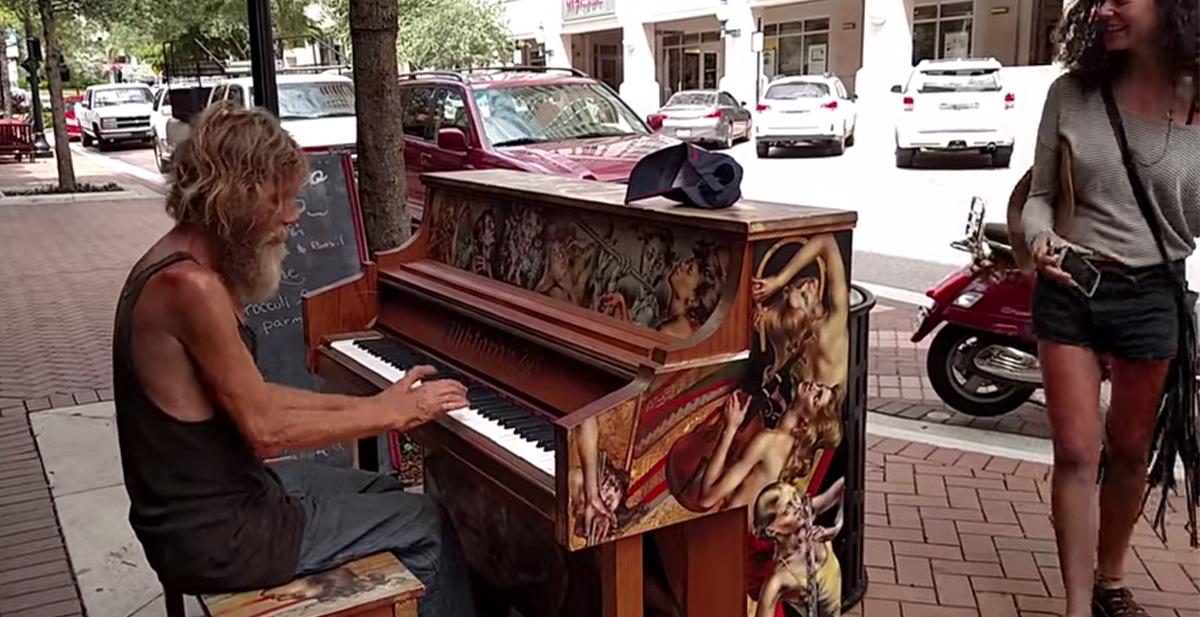 destacada vagabundo piano