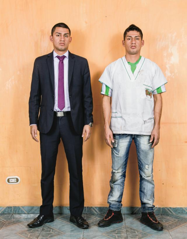 Wilber Cañas Velasco y  Carlos Alberto Bernal Castro - por Stefan Ruiz para The New York Times