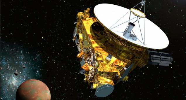 new horizon pluton sonda