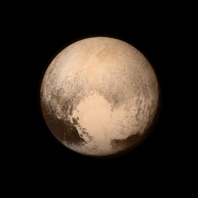 Imagen en alta definición de Plutón