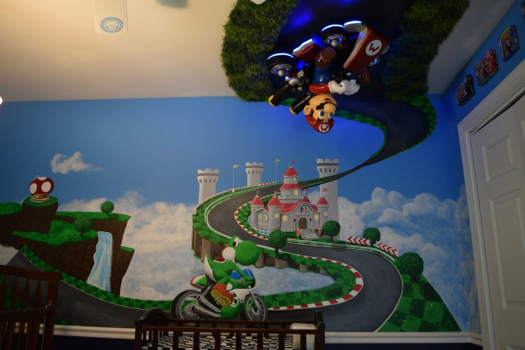 Habitacion Mario Kart 8 3
