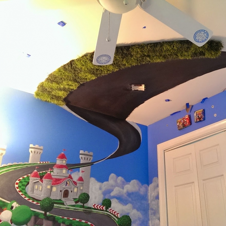 Habitacion Mario Kart 8 32