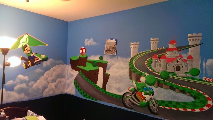 Habitacion Mario Kart 8 7